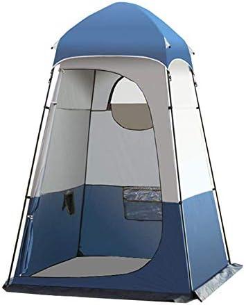 Draagbare Privacy Douche Camping Kleedkamer Dressing Wc Zonwering Tent Voor Buiten Wandelen Reizen Met Draagtas 160X160X240CM,Blue
