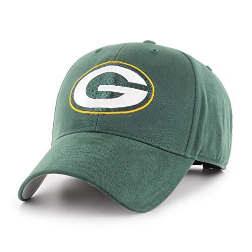 Kids Baseball Cap Hat - NFL Green Bay Packers Children Cinch Ots All-Star MVP Adjustable Hat, Kids, Dark