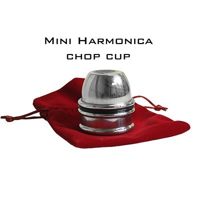 MMS Harmonica Chop Cup (Aluminum) by Leo Smetsers - Trick
