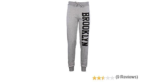 Janisramone Mujeres Brooklyn Corredores chándal Pantalones de ...