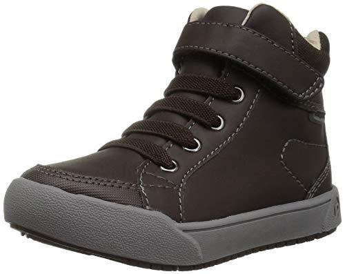 - pediped Unisex Logan Sneaker, Chestnut, 30 Child EU Big Kid (12.5-13 US)