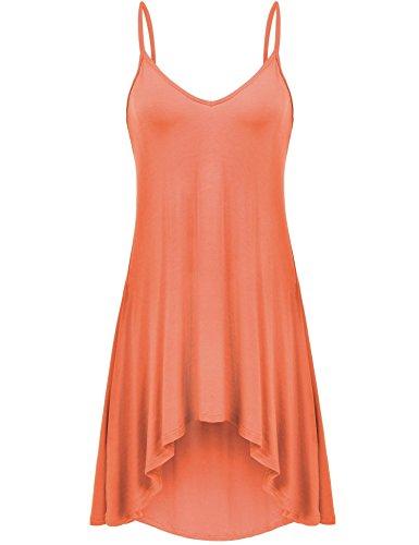 orange cami dress - 7