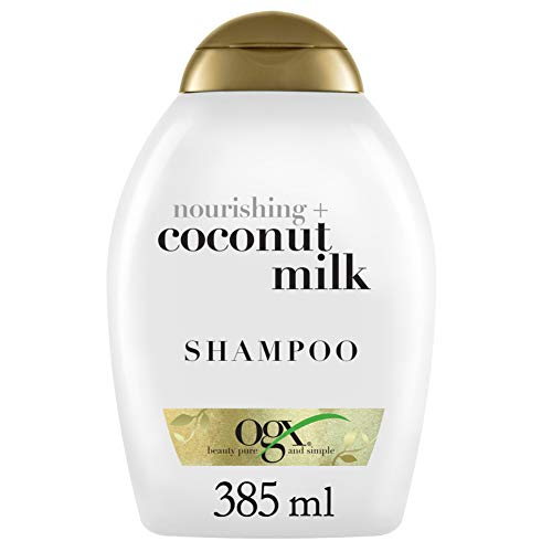OGX Nourishing + Coconut Milk Shampoo, 13 Ounce