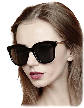 Amazon.com: O2 Eyewear 613 Premium Oversize Espejo Funky ...