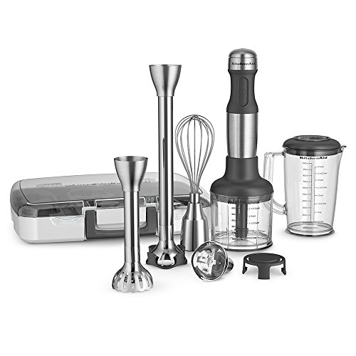 Small Hand Blender ~ Kitchenaid khb sx speed hand blender brushed