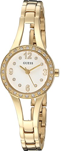 GUESS Women's Quartz Stainless Steel Casual Watch, Color:Gold-Toned (Model: - Guess Arrivals New