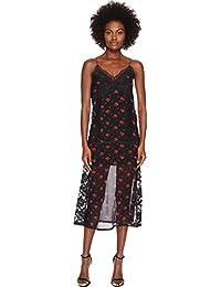 Womens Decon Slip amp Floral Dress