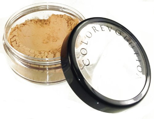 Colorevolution 100% Natural Full Coverage Mineral Foundation, Honey, 9 Gram