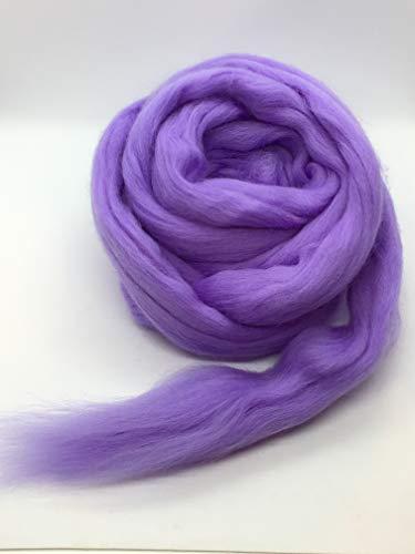 Periwinkle Merino Wool Top Roving Fiber Spinning, Felting Crafts USA (1 Pound) by Shep's Wool (Image #6)
