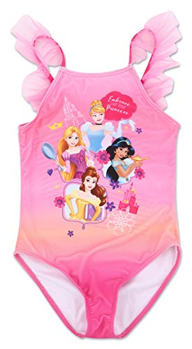 Girls Disney Princess One Piece Swimsuit 6X -