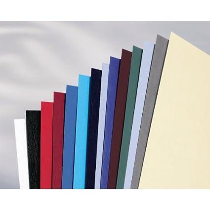 Caja de 100 portadas A4 250 g Gbc CE040030 color rojo