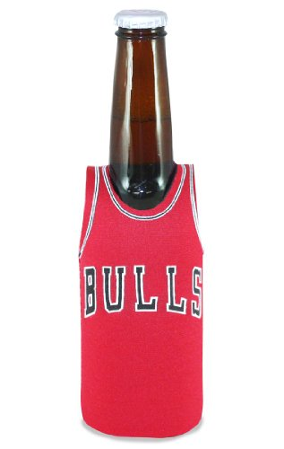 - Kolder NBA Chicago Bulls Bottle Jersey, One Size, Multicolor