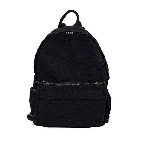 Women Lightweight Men Girls College Backpacks Backpack Black Canvas Casual Backpack Daypack Travel Back Packs School 55wzqx