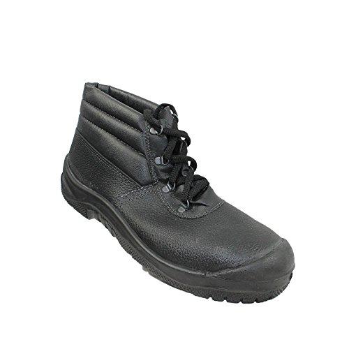 Centek - Calzado de protección de Piel para hombre Negro negro negro
