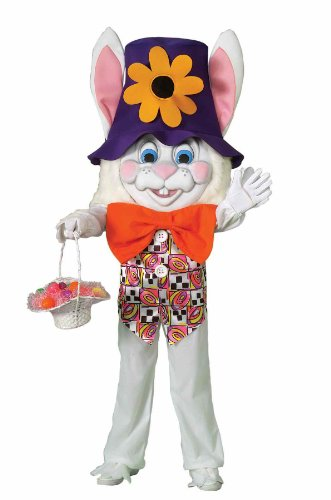 Forum Parade Pleasers Oversized Bunny Costume, White, Adult