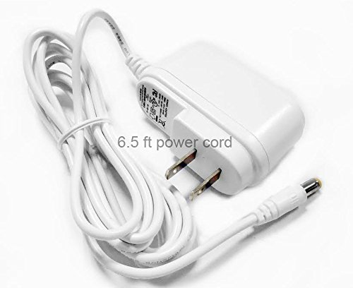 Microseven MSP12VDC2AW Power Adapter Supply 12V DC 1A 1000mA with 100V - 240V AC Input 50/60 Hz 0.35A UL Listed Certified 2.1mm 5.5mm, CCTV IP Camera