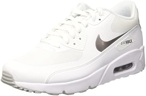 Sesión plenaria Destino Cayo  Nike Men's Air Max 90 Ultra 2.0 Essential Trainers, Metallic Silver/White,  8.5 UK: Buy Online at Best Price in UAE - Amazon.ae