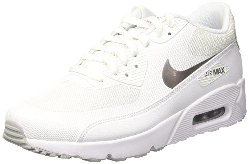 Scarpe 90 Max 0 NIKE Uomo Essential Ginnastica da 2 White Air Metallic White Silver Ultra Bianco ERxqn0q