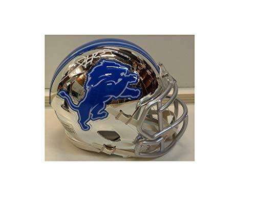 Darius Slay Autographed Detroit Lions Chrome Mini Helmet