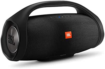 JBL Boombox Portable Bluetooth Waterproof Speaker Black Renewed