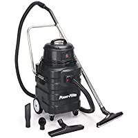 Powr-Flite PF54 Wet Dry Vacuum with Polyethylene Tank and Tool Kit, 15 gal Capacity