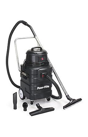 Powr-Flite PF54 Wet Dry Vacuum with Polyethylene Tank and Tool Kit, 15 gal Capacity