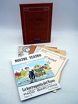EL SAINET I LES FALLES. 7 Cuadernos En Estuche De Cartón. Diputació De Valencia. Oferta: Amazon.es: VVAA: Libros