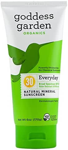 Sunscreen & Tanning: Goddess Garden