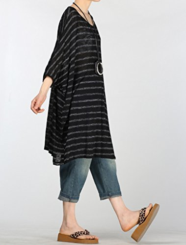 Vogstyle - Camiseta - para mujer Style 2-Black