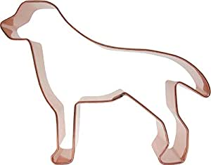 CopperGifts: Dog Cookie Cutter (Labrador)