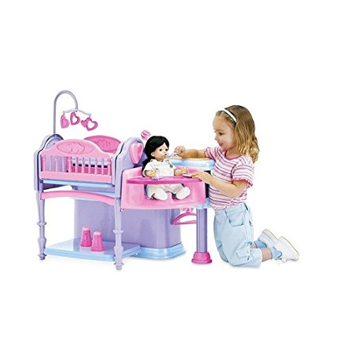 Deluxe Doll Nursery, 10-Piece Play Set