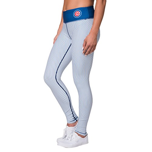 Chicago Cubs Uniforms (CHICAGO CUBS UNIFORM LEGGING - WOMENS SMALL)