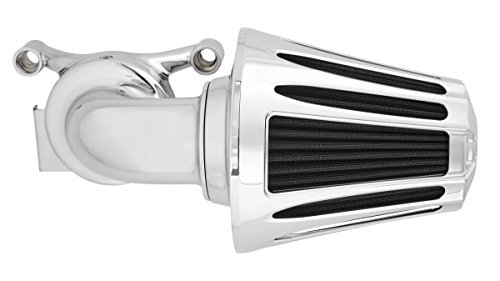 08-16 HARLEY FLHX2: Arlen Ness Monster Big Sucker Intake Kit (Deep Cut Cover) (Chrome) ()