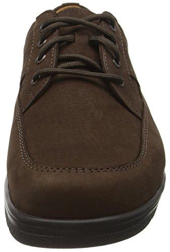 Ganter Eric, Weite I, Zapatos de Cordones Derby para Hombre Marrón - Braun (espresso 2000)