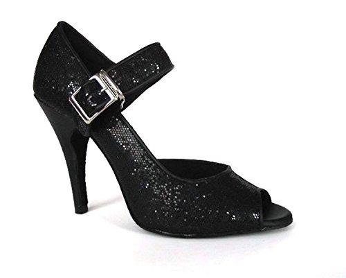 10cm 35 Miyoopark Ballroom Donna Heel black Nero 88a6qP
