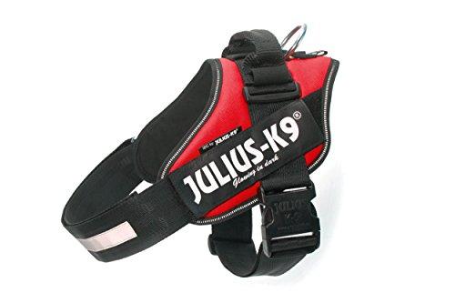 Julius-K9 IDC-Power Harness, Red, Size: 2/71-96 cm/28-37.5