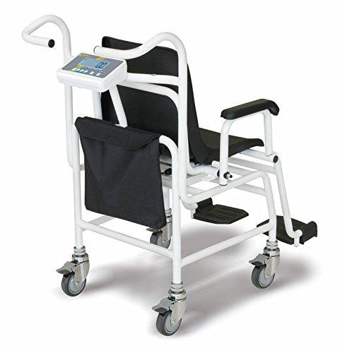 Báscula silla con décl. de aprobación [Kern MCC 250K100M] Báscula silla optimizada ergonómicamente y con aprobación de homologación y médica, ...