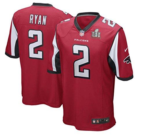 Nike Youth Matt Ryan Atlanta Falcons Super Bowl Li Bound Game Jersey  Youth Large 14 16