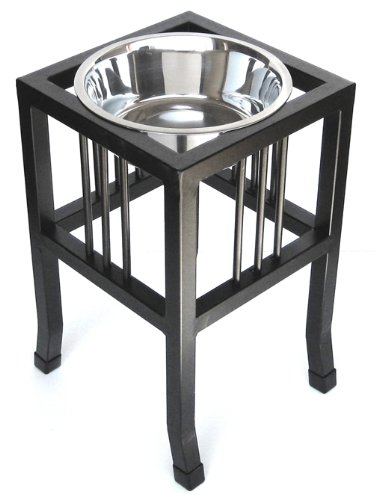 Baron Single 18'' Elevated Dog Feeder by NMN Products
