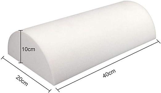 40 x 20 x 10 cm MERIGLARE Cuscino Poggiapiedi Cuscino Poggiapiedi Per Sotto La Scrivania Grigio