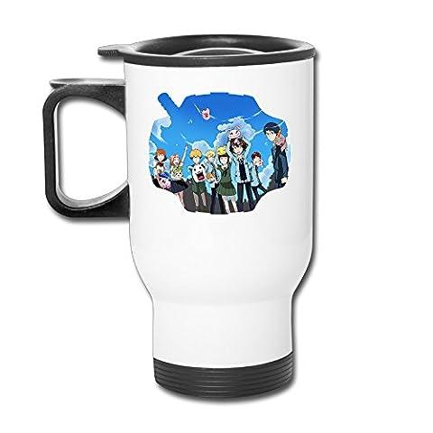 Digimon Adventure Tri. Toei Animation Travel Coffee Mugs Thermos Mug Cup (Digimon Travel Mug)
