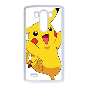 LG G3 Cell Phone Case White Super Smash Bros Pikachu SUX_183464