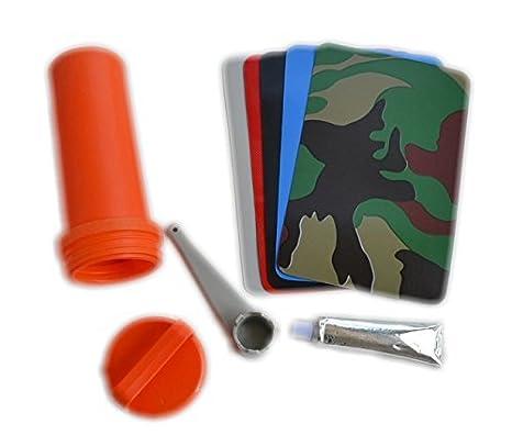 Kit de reparación para bote hinchable o kayak (parche de PVC ...