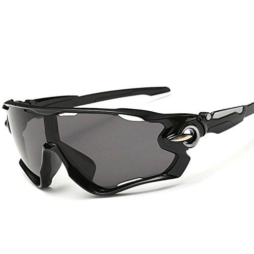 KRY - Lunettes de soleil sportives UV400pour homme, adaptées à la conduite, au golf, à la pêche, monture incassable en métal 1