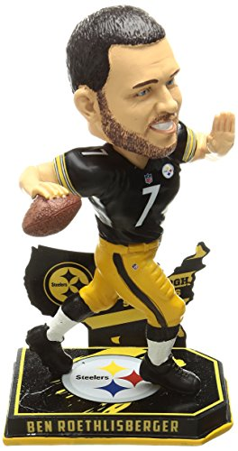 FOCO Pittsburgh Steelers Roethlisberger B. #7 Nation Bobble by FOCO