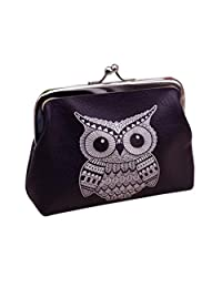 Mapletop Womens Owl Wallet Card Holder Coin Purse