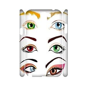 DIY Samsung Galaxy Note 2 N7100 Case, Zyoux Custom New Fashion 3D Samsung Galaxy Note 2 N7100 Cover Case - Eye