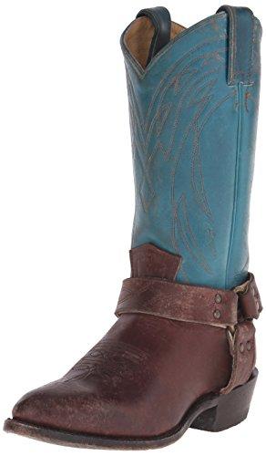 Frye Womens Billy Harnas-sfgspu Westernlaars Turquoise / Multi