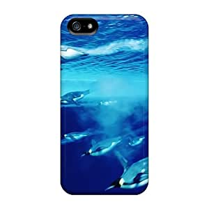 Iphone Cover Case - Pinguins Protective Case Compatibel With Iphone 5/5s