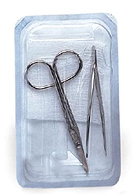 Dynarex Suture Removal Kit- Sterile - Bx/10 Kits